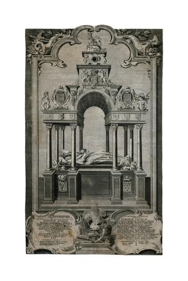 Tomb of Queen Elizabeth I, Westminster Abbey--Giclee Print