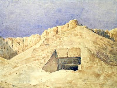 Tomb of Ramesses I, C1820-1870-Hector Horeau-Giclee Print