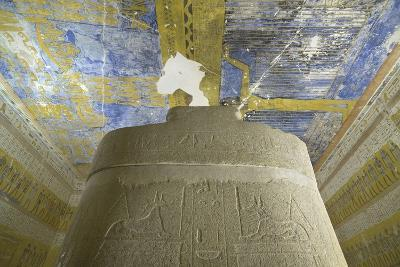 Tomb of Ramses VII, Sky-Goddess Nut and Astronomical Motifs in Burial Chamber from 20th Dynasty--Giclee Print