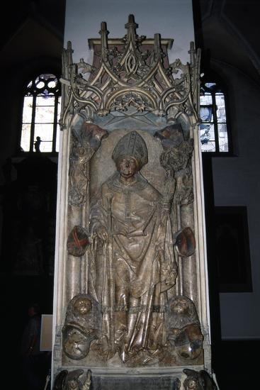 Tomb of Rudolf Von Scherenberg, Ca 1495-Tilman Riemenschneider-Giclee Print