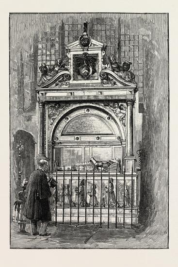 Tomb of Sir Richard Smythe, 1565 - 1628, of Leeds Castle Kent, U.K.--Giclee Print