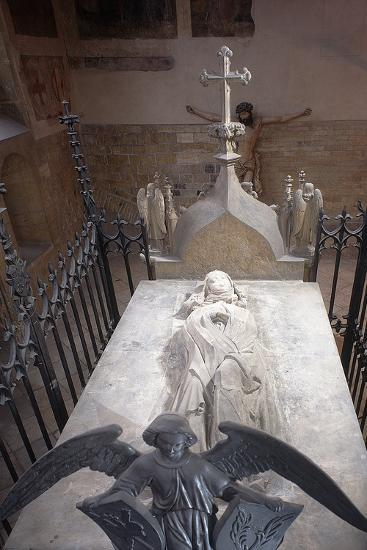 Tomb of St. Ludmila of Bohemia in St. George's Basilica at Prague Castle, Prague, Czech Republic--Photographic Print