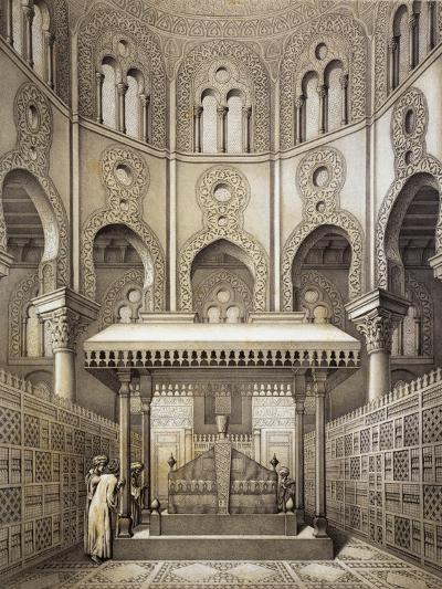 Tomb of Sultan Qalaum (14th Century) in Cairo-Emile Prisse d'Avennes-Giclee Print