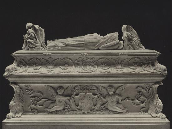 Tomb of the Children of Charles VIII--Photographic Print