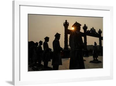 Tomb of the Emperor Khai Dinh of Nguyen Dynasty, Built in 1920-1931, Thua Thien Hue Province-Nathalie Cuvelier-Framed Photographic Print