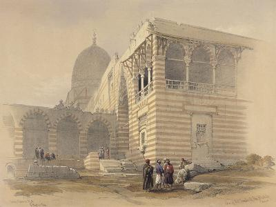 Tomb of the Khalifs-David Roberts-Giclee Print