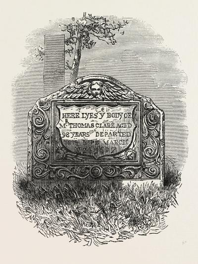 Tomb of the Mate of the Mayflower--Giclee Print