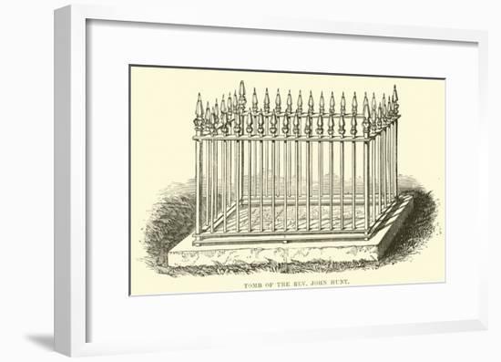 Tomb of the Reverend John Hunt--Framed Giclee Print
