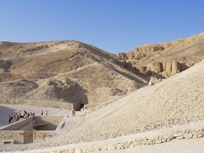 Tomb of Tutankhamen, Valley of the Kings, Unesco World Heritage Site, Thebes, Egypt-Peter Scholey-Photographic Print