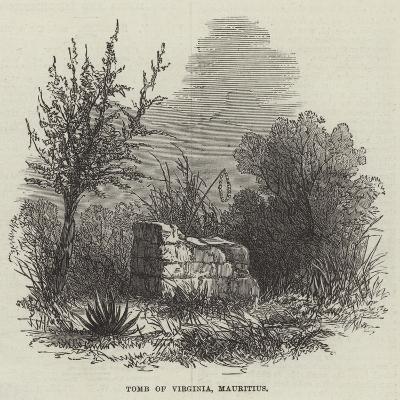 Tomb of Virginia, Mauritius--Giclee Print