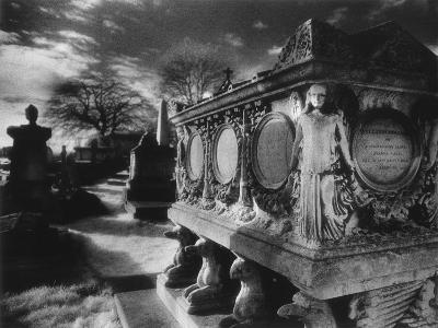 Tomb of William Holland, Kensal Green Cemetery, London, England-Simon Marsden-Giclee Print