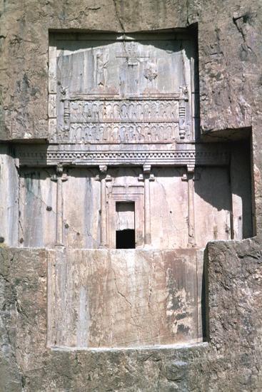 Tomb of Xerxes I, Naqsh-I-Rustam, Iran-Vivienne Sharp-Photographic Print