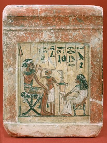 Tomb Stone of a Mercenary, 1350 BC. Artist: Unknown-Unknown-Giclee Print