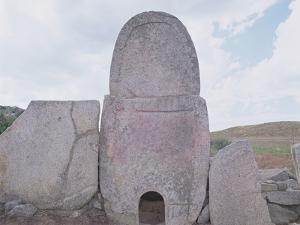 Tomba Di Gigante Di Coddu Vecchiu, Arzachena, Sardinia