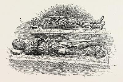 Tombs of Knights Templars London--Giclee Print