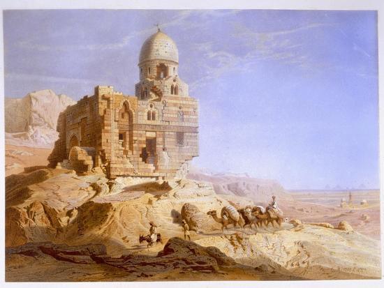 Tombs of the Khalifs, Cairo, 1871-Carl Friedrich Heinrich Werner-Giclee Print