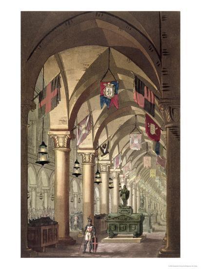 Tombs of the Knights Templar, c.1820-39-Alessandro Sanquirico-Giclee Print