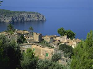 Lluc Alcari Near Deya, Majorca, Balearic Islands, Spain by Tomlinson Ruth