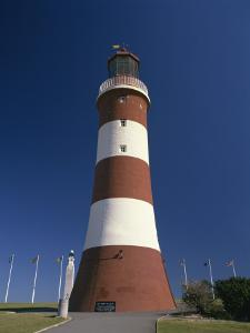 Smeatons Tower Lighthouse on the Hoe in Plymouth, Devon, England, United Kingdom, Europe by Tomlinson Ruth