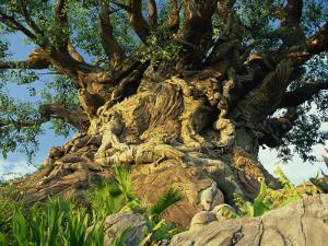 Tree of Life, Animal Kingdom, Disneyworld, Orlando, Florida, USA by Tomlinson Ruth