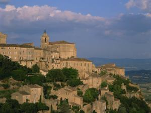 Village of Gordes Overlooking the Luberon Countryside, Vaucluse, Provence, France, Europe by Tomlinson Ruth