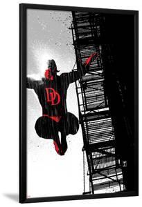 Daredevil Noir No.1 Cover: Daredevil by Tomm Coker