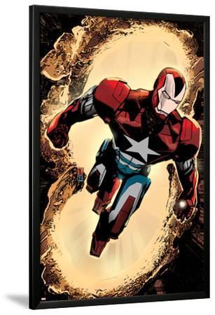 Secret Avengers #3 Cover: Iron Patriot by Tomm Coker