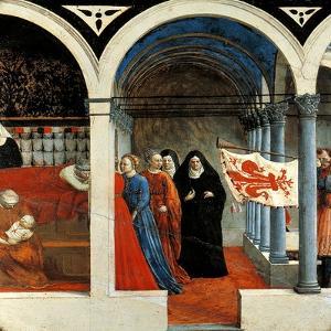 Nativity by Tommaso Masaccio