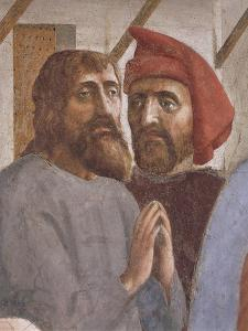 The Cured, Detail from Saint Peter Healing the Sick by Tommaso Masaccio
