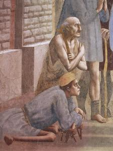 The Sick, Detail from Saint Peter Healing the Sick by Tommaso Masaccio