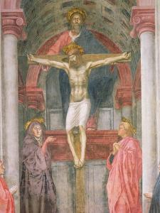 The Trinity, 1427-28 (Detail) by Tommaso Masaccio