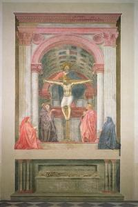 The Trinity, 1427-28 by Tommaso Masaccio