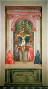 The Trinity, 1427-28 by Tommaso Masaccio