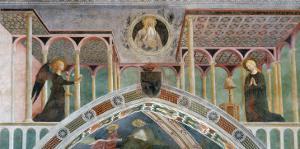 Annunciazione by Tommaso Masolino Da Panicale