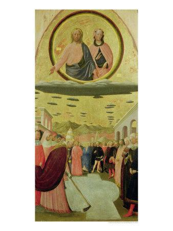 Pope Liberius Founding the Basilica of Santa Maria Della Neve