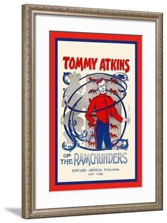 Tommy Atkins of the Ramchunders--Framed Art Print