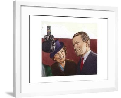 Tommy Handley, Star of Itma-Pat Nicolle-Framed Giclee Print