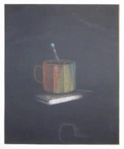 Book and Cup by Tomoe Yokoi