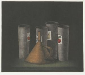 Funnel and Fruit Cups by Tomoe Yokoi