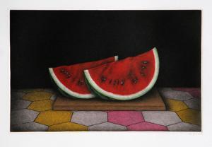 Sliced Watermelon by Tomoe Yokoi