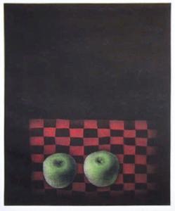 Two Apples by Tomoe Yokoi