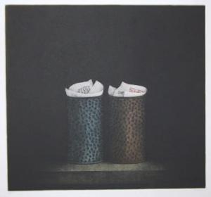 Two Wastebaskets by Tomoe Yokoi