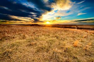 As Darkness Falls at Taberville Prairie by tomofbluesprings
