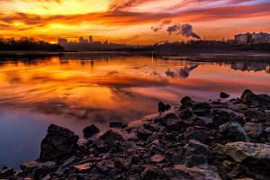 Kansas City at Sunrise by tomofbluesprings