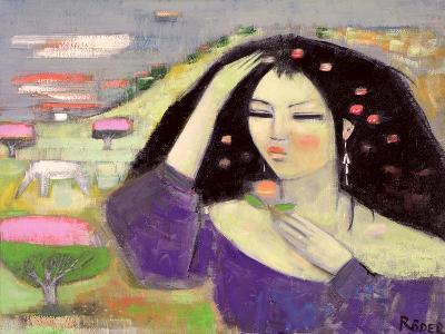Tomoko Dreaming in English III-Endre Roder-Giclee Print