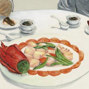 Chinese dishes,2013 by Tomoko FURUYA