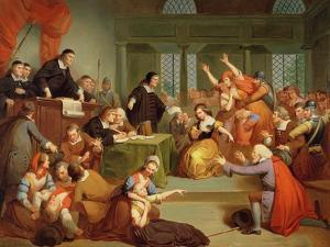 The Trial of George Jacobs, 5th August 1692, 1855 by Tompkins Harrison Matteson