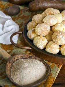 Brazilian Pao De Queijo, Cheese Bread, Brazil, South America by Tondini Nico