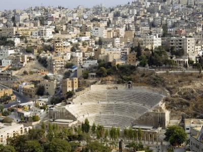 Roman Theatre, Amman, Jordan, Middle East by Tondini Nico