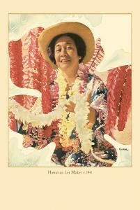 Hawaiian Lei Maker by Toni Frissell